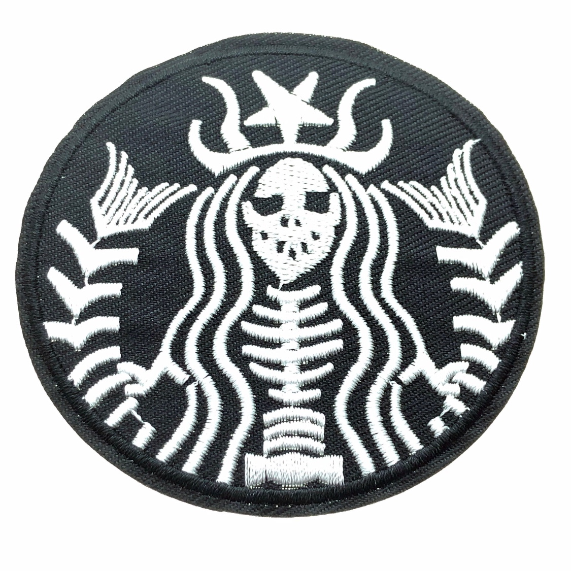 The Classic Starbucks Logo Reimagined In Goth Form Depop