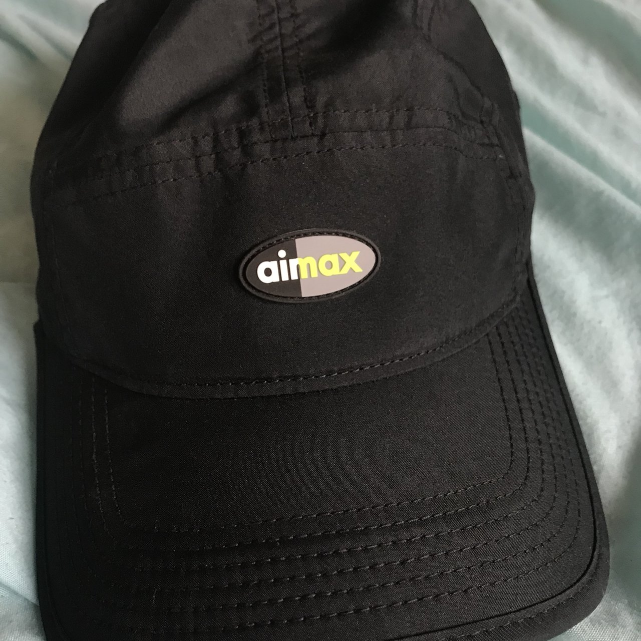 Nike AirMax cap in black. Adjustable strap and made from - Depop 8ec06071979