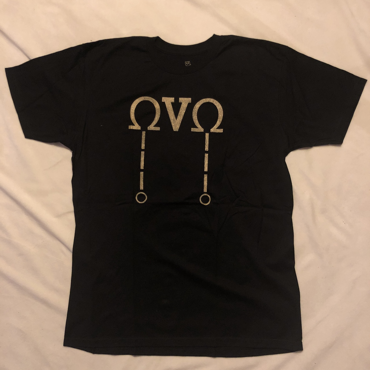"""31f9fb1a5 DRAKE """"OCTOBERS VERY OWN"""" OVO GREEK LETTER T-SHIRT ..."""