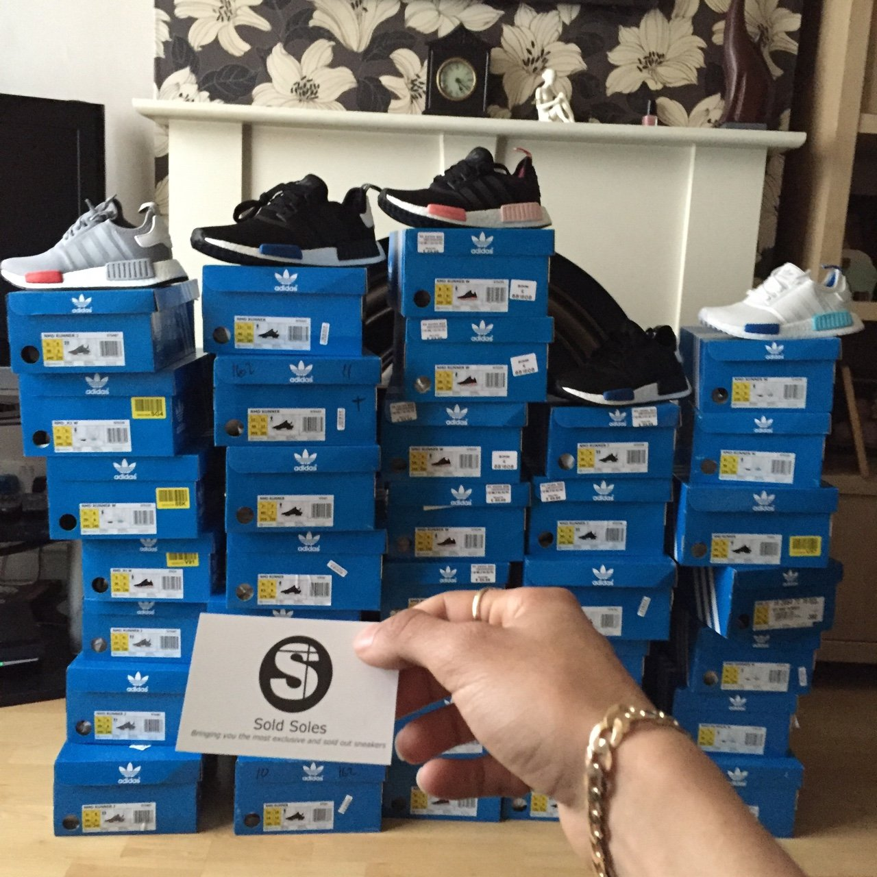 Small Adidas NMD Restock on Soldsoles.co.uk Mainly smaller - Depop d4013f6df