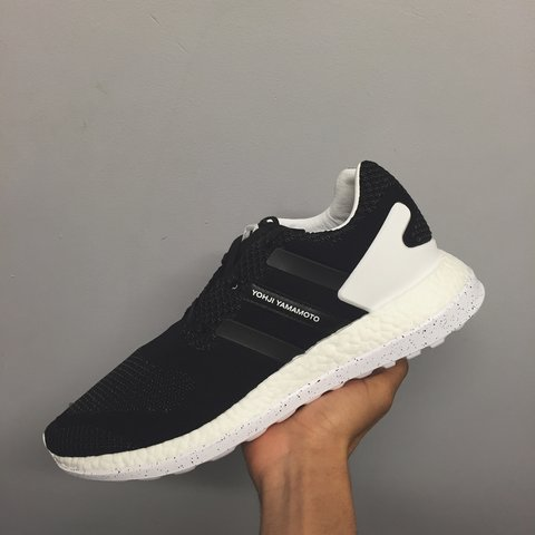 cce2d6a7099b2 Adidas Y-3 pure boost ZG PrimeKnit Black. Brand new with on - Depop