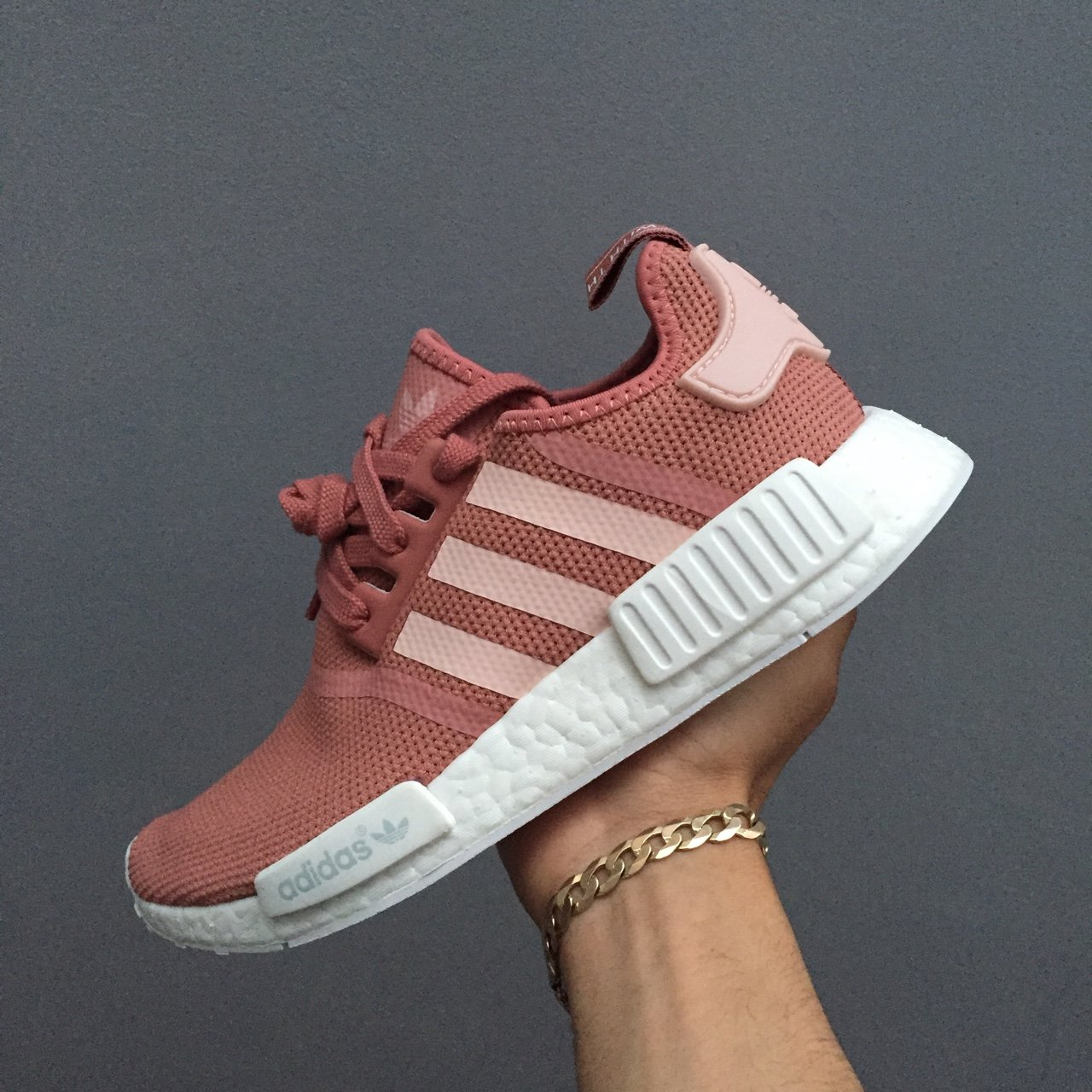 c463e86c63a Adidas NMD Raw pink Restock. Brand new with box ONLY the is - Depop