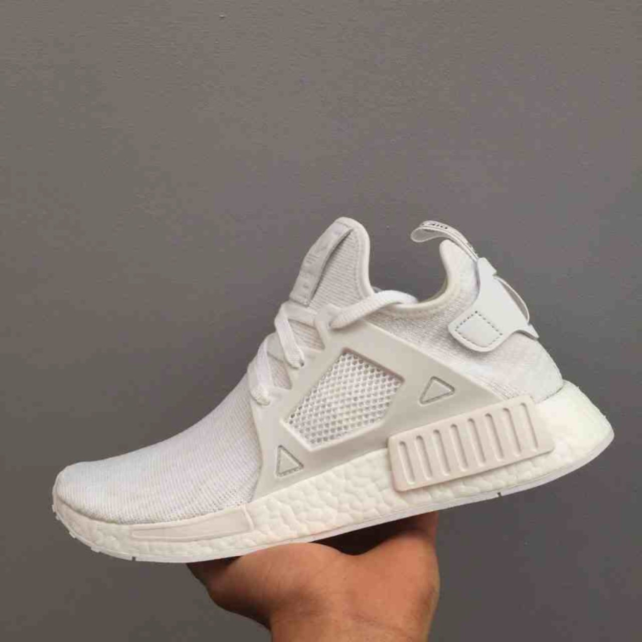 47c3fc2f7 Adidas NMD XR1 PK White. Brand new with box. UK 8.5 only. on - Depop