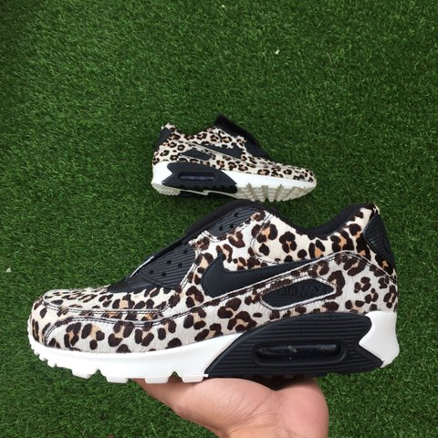 best sneakers a79cb ad981  soldsoles. last year. Dagenham, United Kingdom. Nike Air Max 90 Snow  Leopard ...