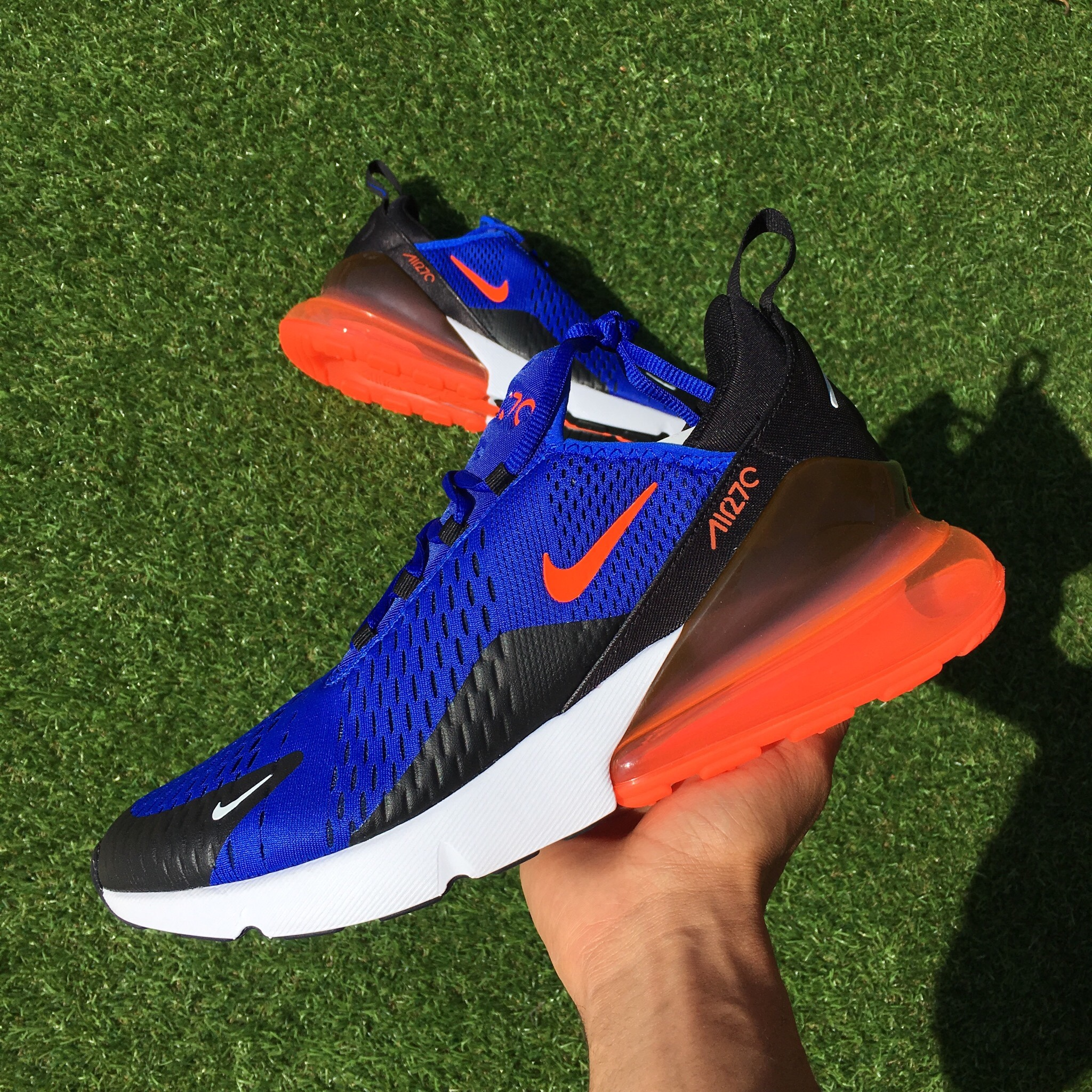 "timeless design 7eebc 9dc66 Nike Air Max 270 ""New York Knicks"" , Mens sizes .... - Depop"