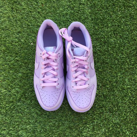940852d0122 Nike Air Dunk Low Lilac . Brand new with box. Worldwide 100 - Depop