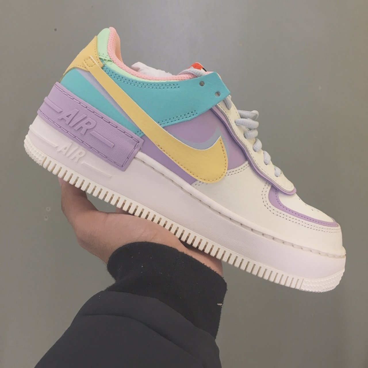 Nike Air Force 1 Shadow Pastel Brand New With Box Depop