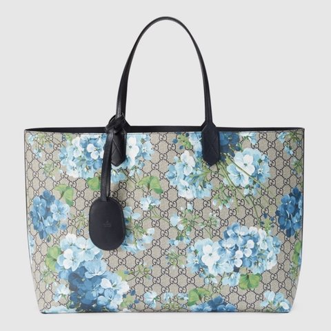 f31d2f2633 @angel_pshoppers. 4 months ago. London, United Kingdom. GUCCI Blue Blooms Tote  Bag ...