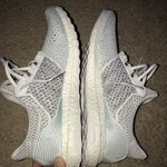3a9b5006f Ultra Boost Uncaged x Parley Very lightly worn Size 10.5 - Depop