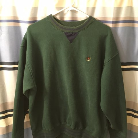 a0ef922d @rynhly97. 2 months ago. West Chester, United States. Vintage Tommy Hilfiger  crewneck, Mens Large. In good condition with no ...