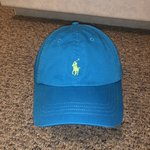 f0be2630f Slightly used bright blue Polo.  19 · Polo Ralph Lauren Dad Hat Amazing