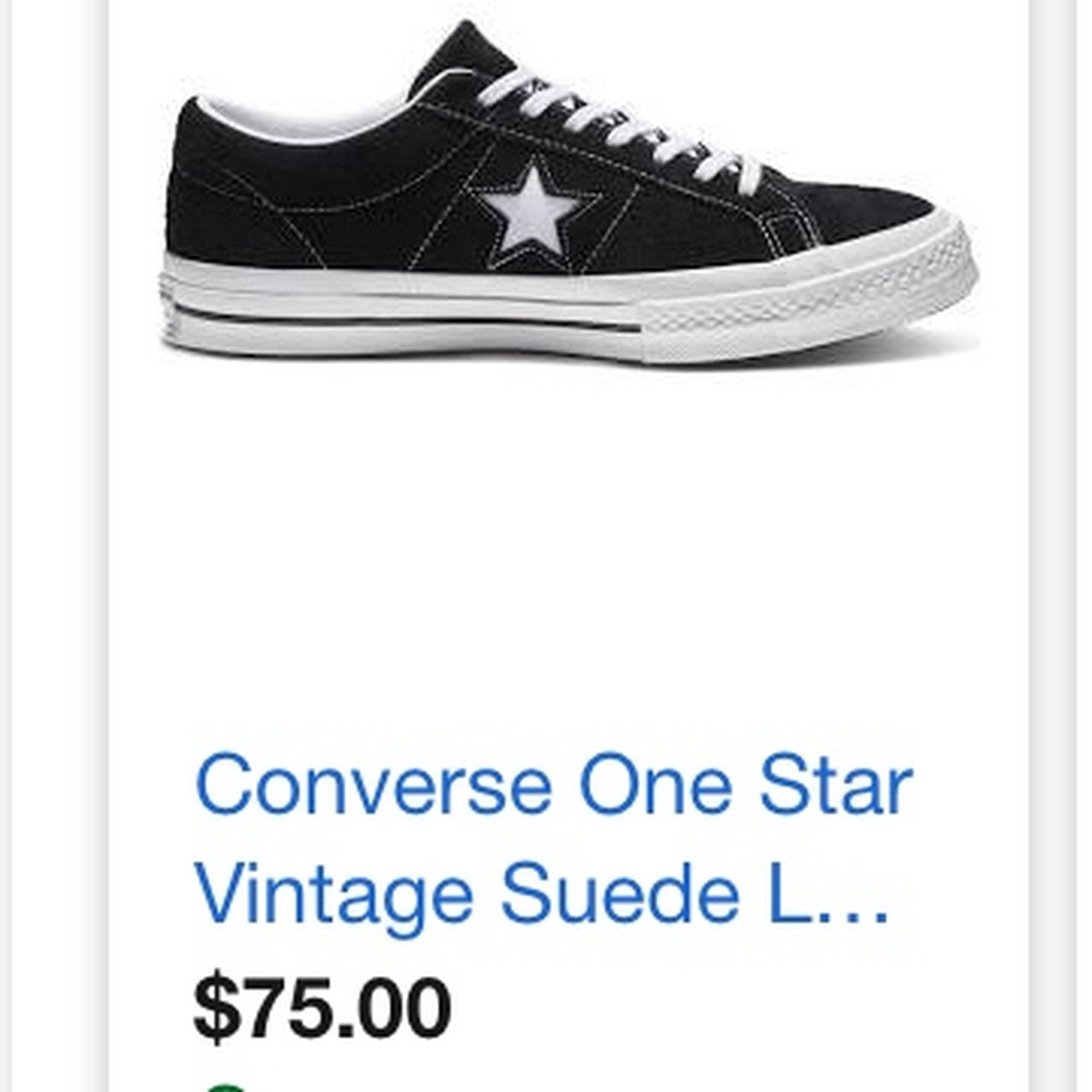 b190f9eafb BRAND NEW Suede Converse One