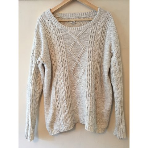 f3bf37c4b7c Gorgeous Levis cosy knit jumper cream cable