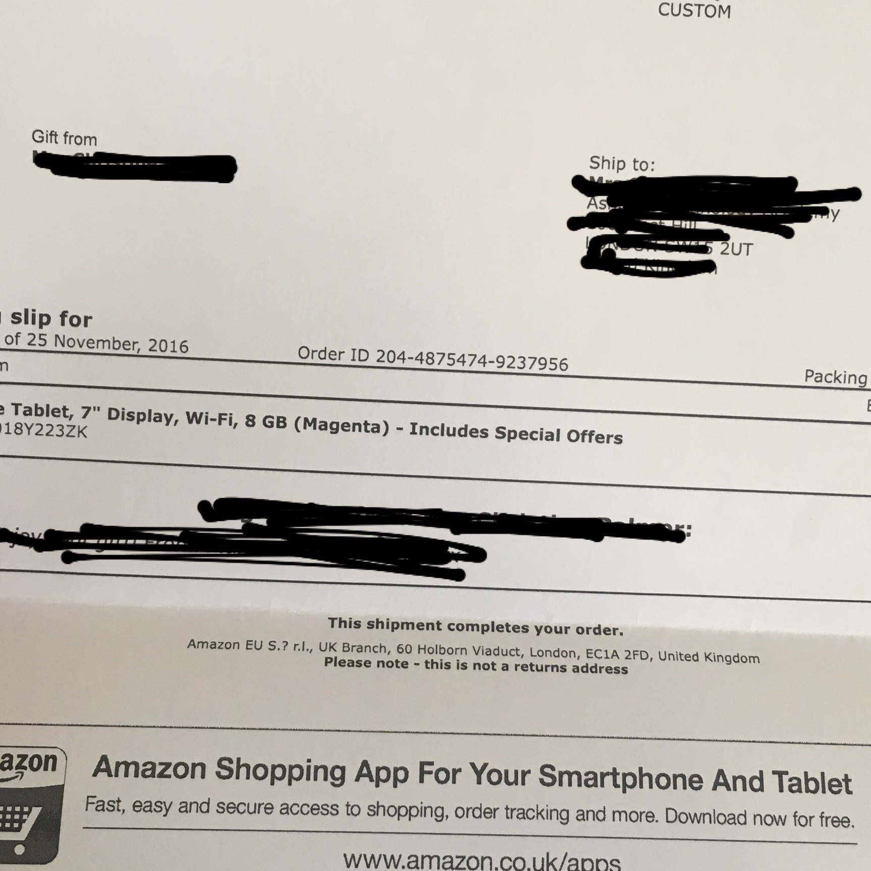 """Amazon fire 7"""" tablet 8gb Front and rear    - Depop"""