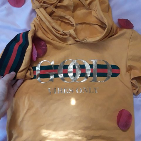 3a34a7a65 PRICE DROPPED!* Mustard yellow gucci immitation... - Depop