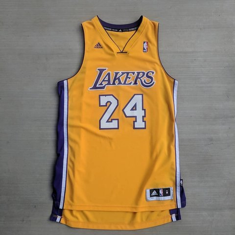 5daa07f8560 Authentic Adidas Kobe Bryant jersey. Excellent condition. M - Depop