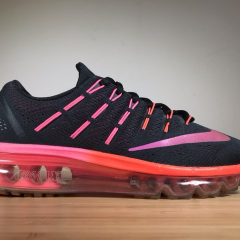 timeless design b0757 7d243  ljvictorio. 8 days ago. Concord, United States. Nike Air Max 2016  806772-006 Womens Size 7.5 Black Pink  Orange.