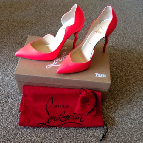 2bb91e6fb818 Genuine Christian louboutin shoes. Bought and never worn too - Depop