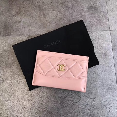 494221f00b1b @cxculil. last month. New York, United States. New Chanel card holder with dust  bag