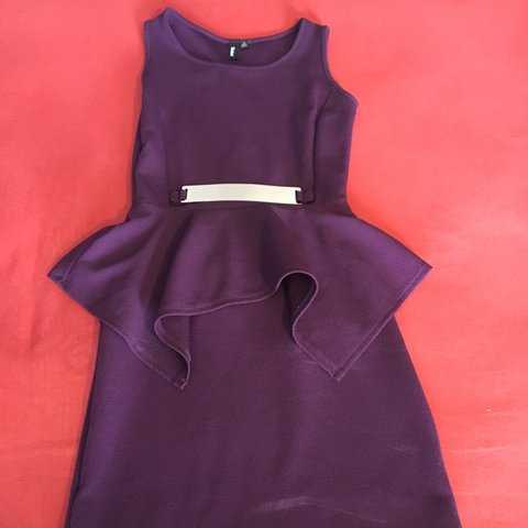 Professional Purple Dress