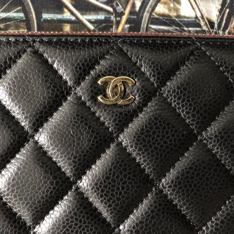 5080e9ead665 @chanelvintage. 11 months ago. Nederland. ❌SOLD❌Chanel o-case: use it as IPad  mini cover ...