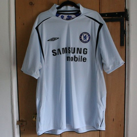 a241d33533a @mjcrowther93. last year. Manchester, United Kingdom. Official Umbro Chelsea  FC 2005/06 Away football shirt ...