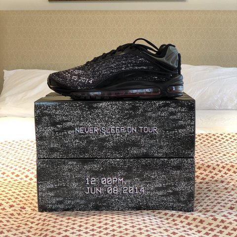 bd7ce58791f5d Nike x Skepta SkAir 3 Air Max Deluxe - Never Sleep On Tour 9 - Depop