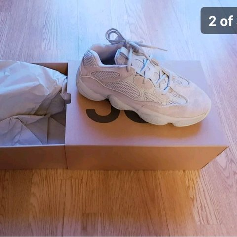 00f717ce7c881 BRAND NEW adidas Yeezy 500 in Salt