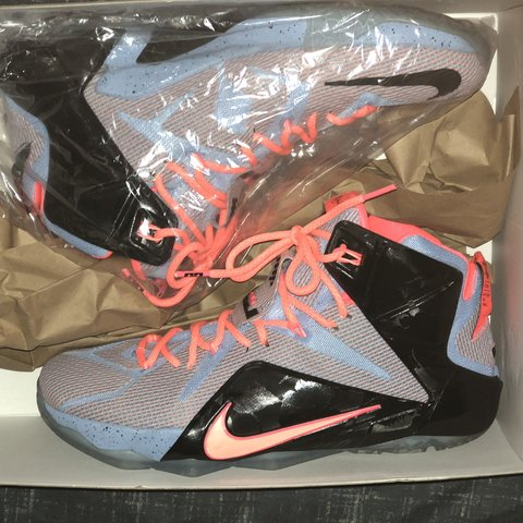 """6397331aa8c Size 12 - LeBron 12 """"Easter"""" 9 10 Condition Only worn 1 -   - Depop"""