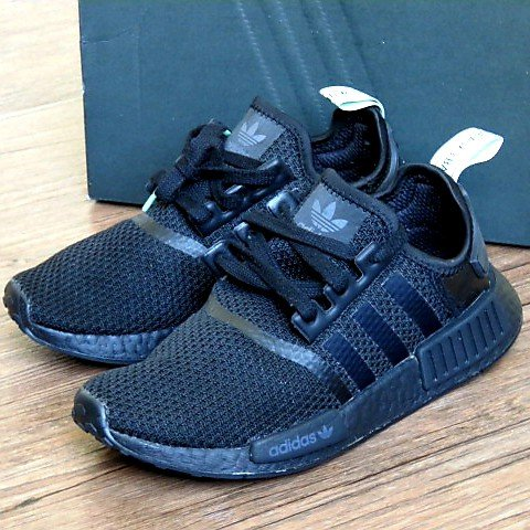 982c2db83 adidas NMD R1 Mint Glow Limited Edition Size  7 women s Core - Depop