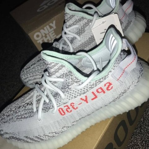 50fa30d48 YEEZY BOOST 350 V2 BLUE TINT Absolute bargain Need these the - Depop
