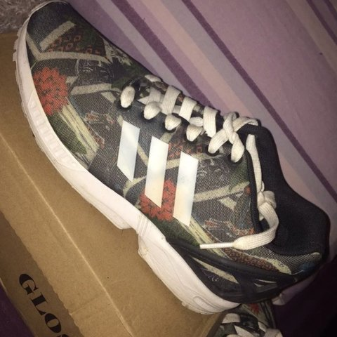 a91a9196635c9 Adidas zx flux worn once size 5 Ignore newlook misspap - Depop