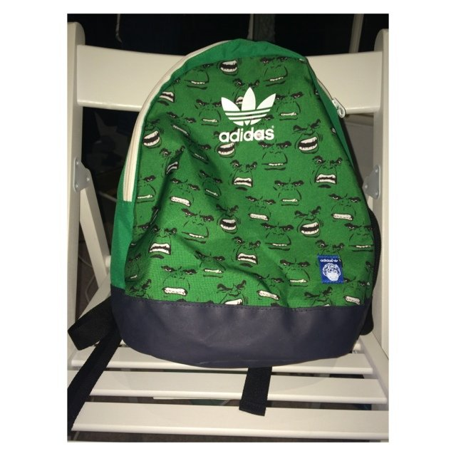 c5567329b0 limited edition hulk Adidas bag. 100% perfect condition. - Depop