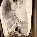 """9a996f457f795 Adidas NMD R1 PK """"Colour Static"""" SIZE 12 7.5 10 with OG box - Depop"""