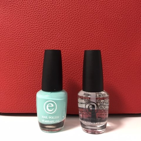Selling these two un-opened Tiffany blue nail polish and if - Depop
