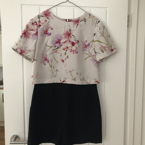 42ac184e654fe  akhrb. last year. United Kingdom. Ted Baker playsuit. Excellent condition. Size  2 ...