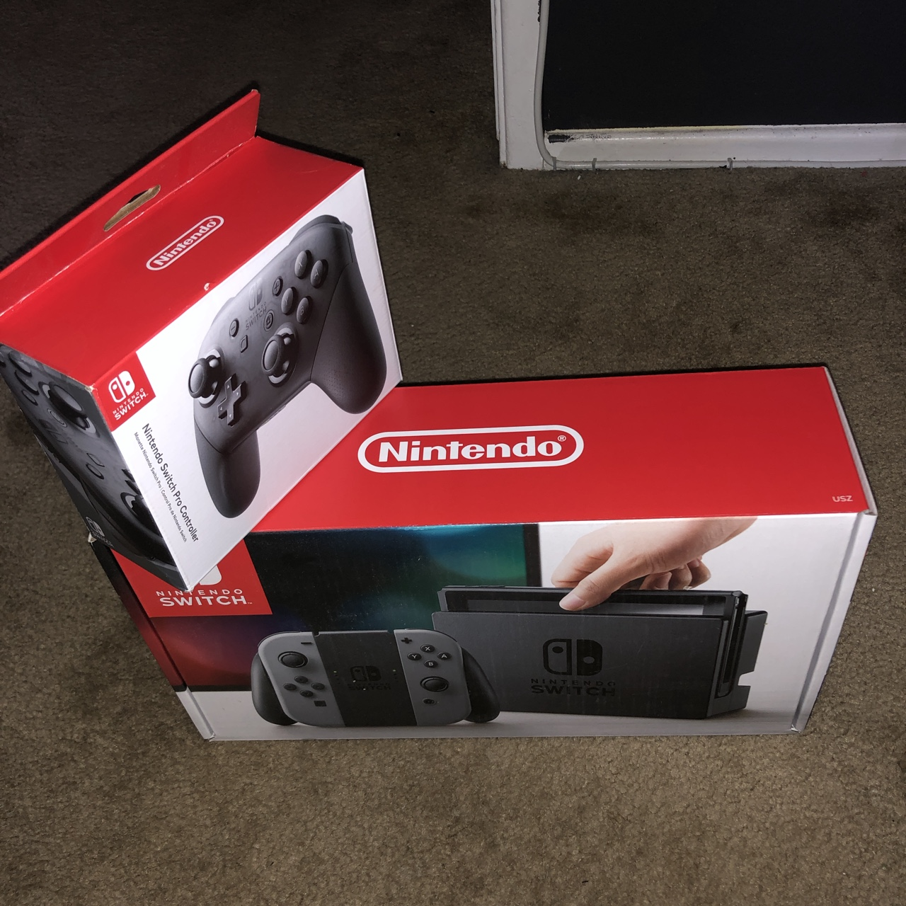 BUNDLE! Brand new Nintendo switch with Nintendo    - Depop