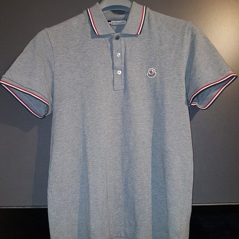 1be90381 @lee0bv. 2 months ago. Motherwell, GB. Moncler Polo shirt in Grey. Size:  Medium