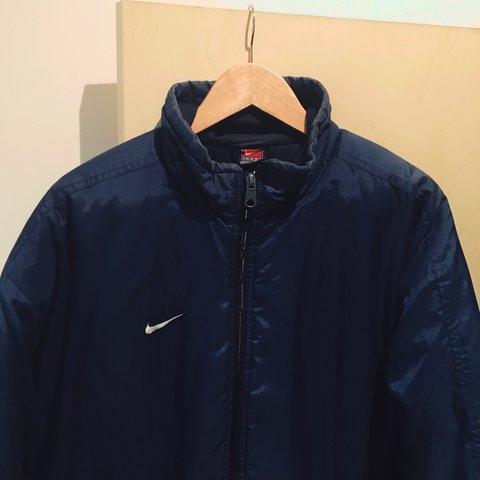 66438f7da9 Vintage Nike coat   jacket    A men s vintage Nike coat in a - Depop