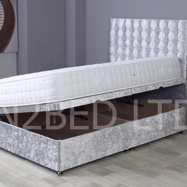 Pleasant Side Lifting Ottoman Bed Turn An Unused Space Into Depop Machost Co Dining Chair Design Ideas Machostcouk