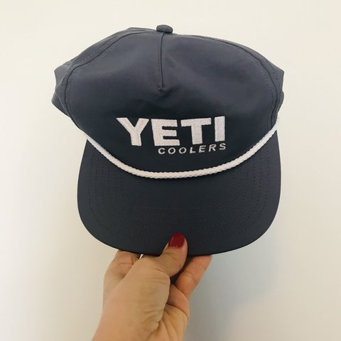 cd2fb3184e8e5 YETI COOLERS SNAPBACK HAT ONE SIZE FREE USA SHIPPING ME TO - Depop
