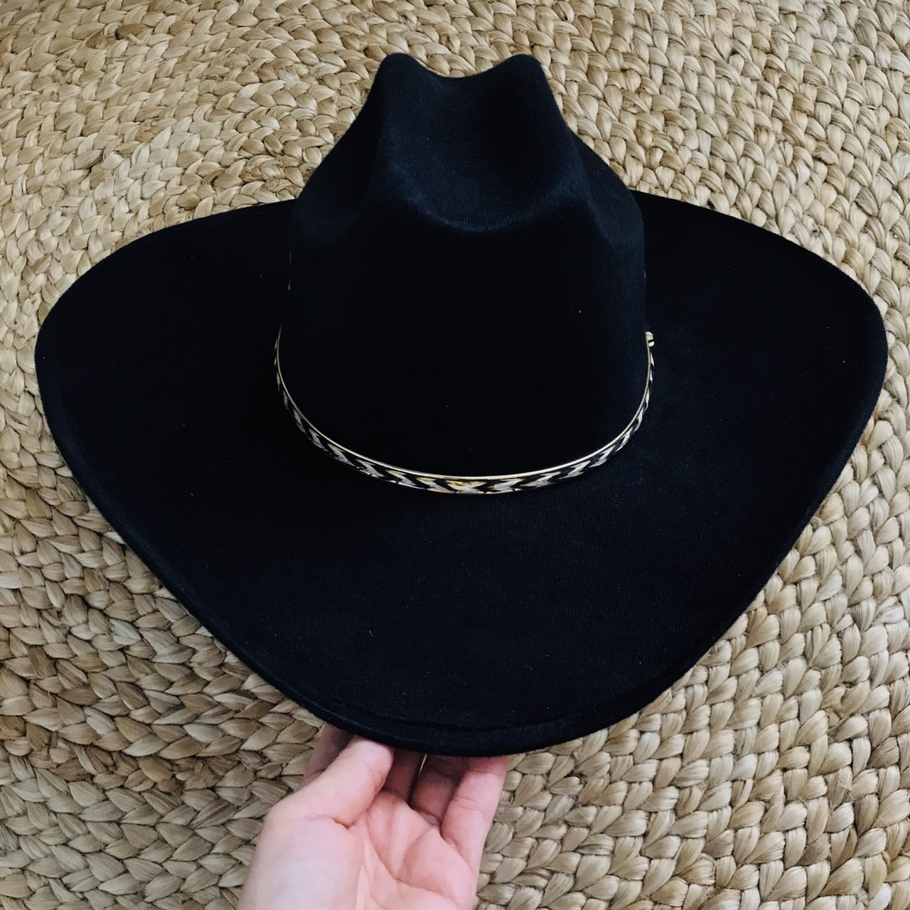 11e9bdd0631 COWBOY HAT Brand  SUMMIT HAT CO SIZE  SMALL FREE USA TO - Depop