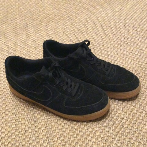 reputable site e053b 155f5  jameswhite4646. 3 years ago. London, UK. Used Nike Air Force 1 Black   Gum  sole.