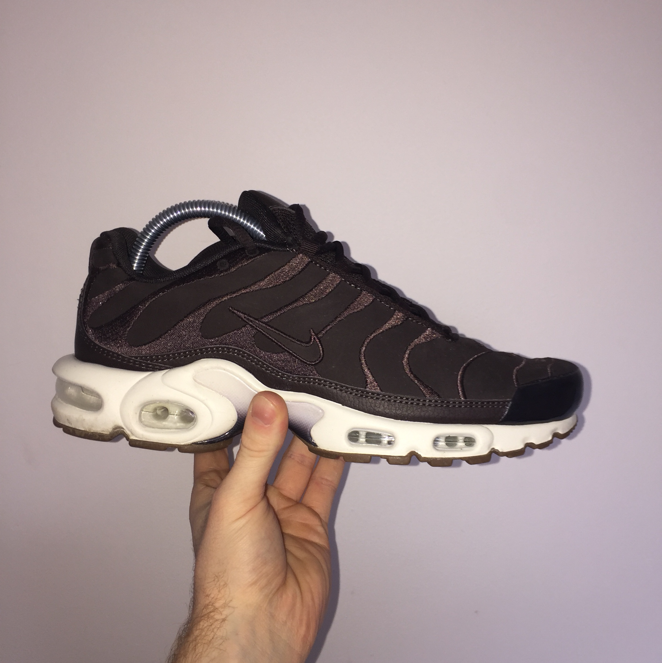 new style 5663b 28684 Nike Air Max Plus TN EF | Velvet Brown coloured... - Depop