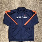 87250d64a1bf64 Space Jam Air Jordan 11 Coaches Jacket. Concord White Brand - Depop