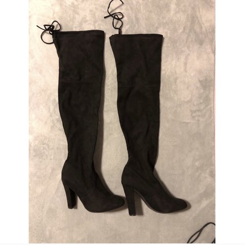 f12bf145acc534 @juliamariew95. 6 days ago. Charlotte, United States. STEVE MADDEN GORGEOUS  SUEDE OVER THE KNEE BOOTS