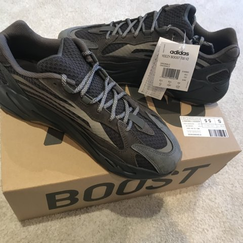 3e1a744064a90 Brand new with tags and unworn Adidas Yeezy Boost 700 V2 Uk - Depop