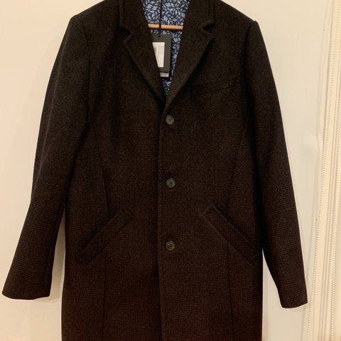 5f1a8c9ac BNWT TED BAKER COAT SIZE 4 (LARGE) Ted Baker Wool Ombré an - Depop