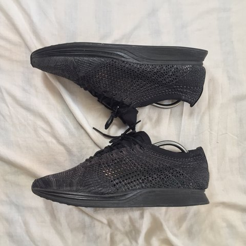 c19800930814ed NIKE FLYKNIT TRAINER ALL BLACK SIZE 9 Comes with box Comfy - Depop