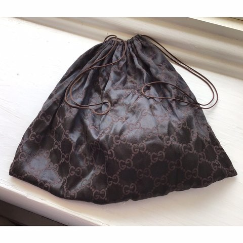 be243b0757a GUCCI drawstring Bag 👜❤ - Authentic Designer - Made In - Depop